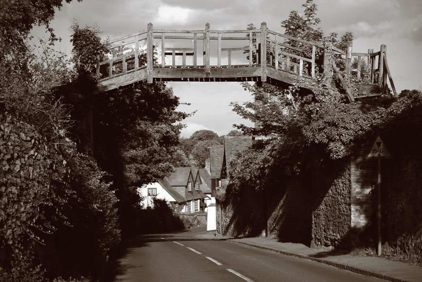 Footbridge, Shere, 1911-2010
